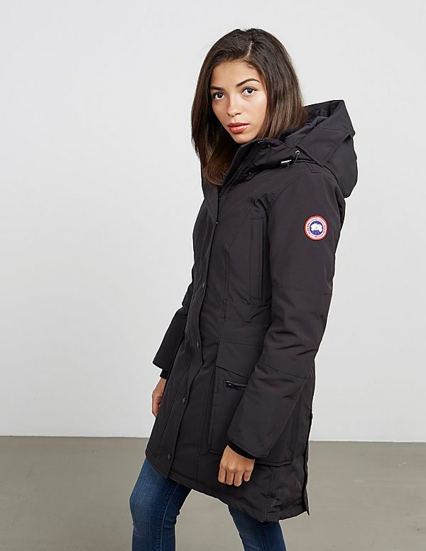 Canada Goose Kinley Parka Padded Jacket – Women s – Black – Cheap ... de5cacdec3