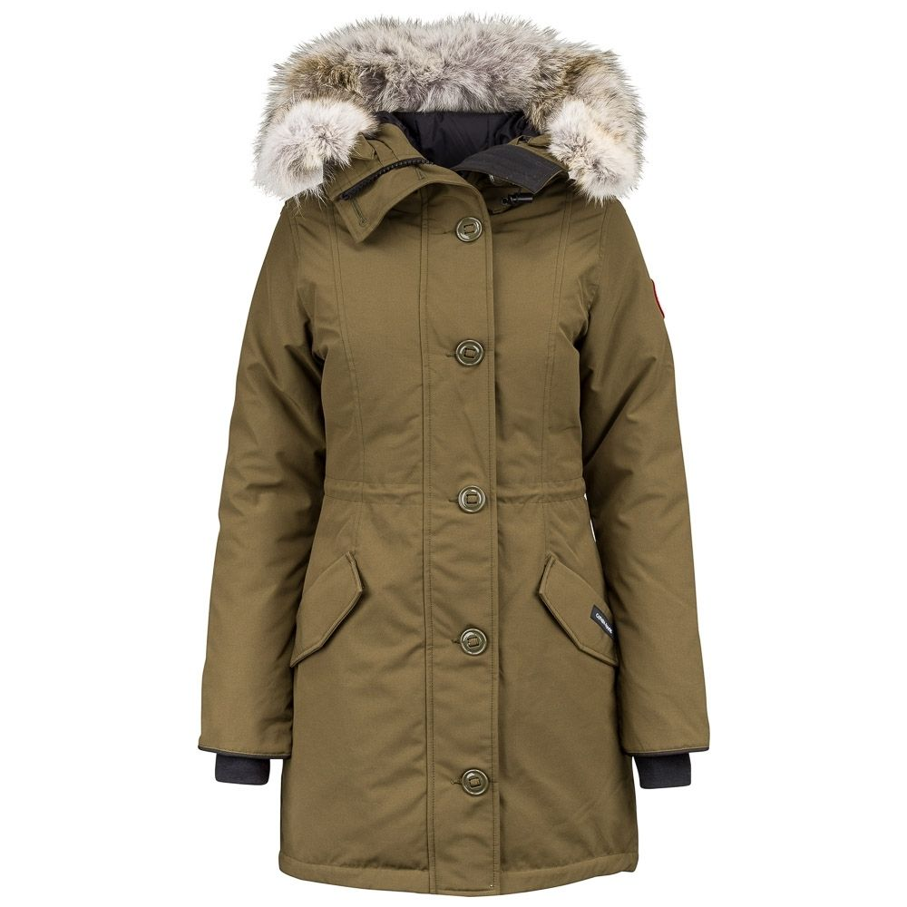 534092d90d84 Canada Goose Rossclair Parka Military Green – Women Style 2580L ...